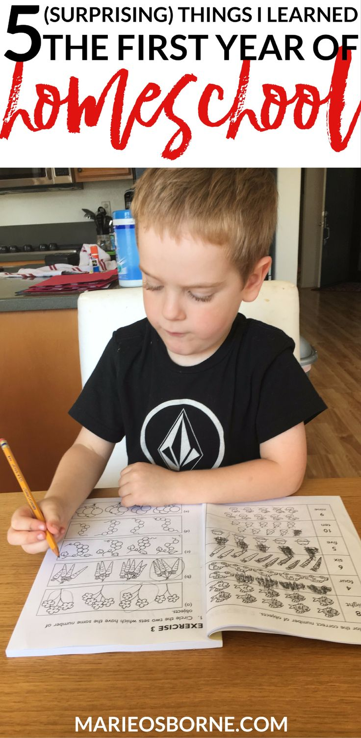 Before our first year of homeschool, I did a lot of research. I thought I was pretty prepared, even if I was still super nervous. I knew I would learn a lot, especially the first year, but these 5 things definitely surprised me.
