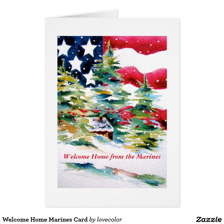 14 best patriotic holiday cards images on pinterest christmas welcome home marines card m4hsunfo