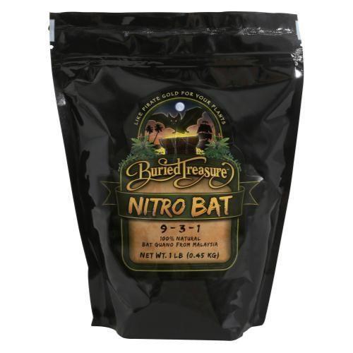 Buried Treasure Nitro Bat Guano 1 lb (12/Cs)