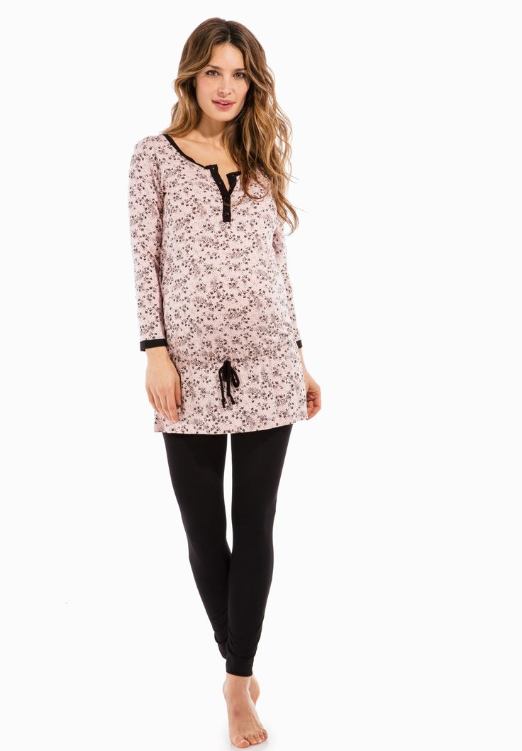 REVESFEUILLAGE - Pyjama grossesse - Envie de Fraise