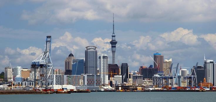 Auckland Cityscape, New Zealand. #auckland #NewZealand