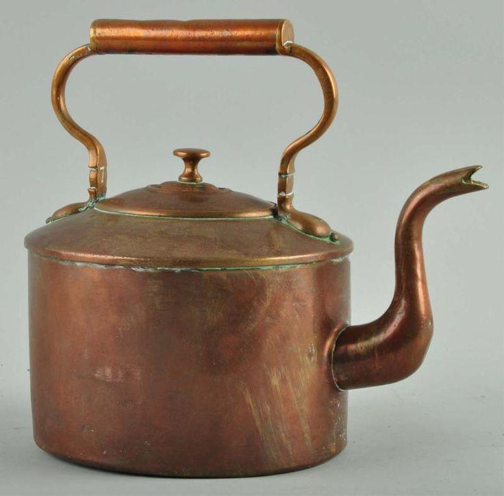 Copper Hand Dovetailed Tea Kettle