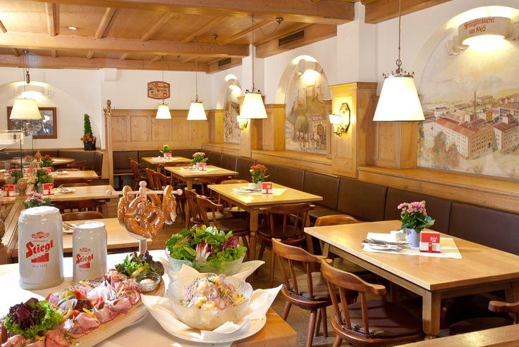 Zünftige Schmankerl in gemütlicher Atmosphäre im Braurestaurant IMLAUER.