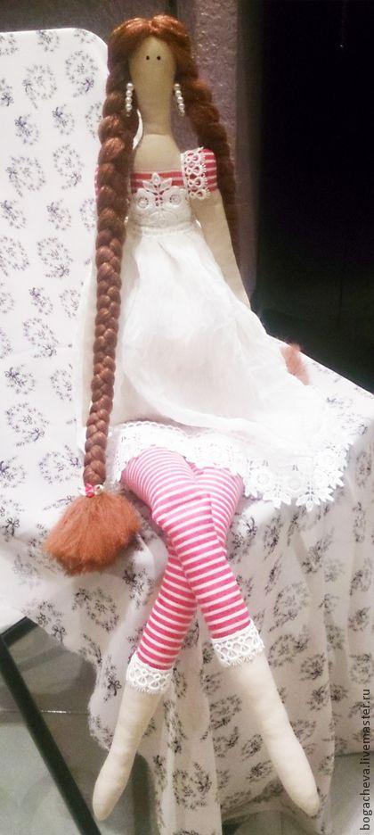 Куклы Тильды ручной работы. Ярмарка Мастеров - ручная работа Любава.Девочка в стиле тильда(по мотивам). Handmade.