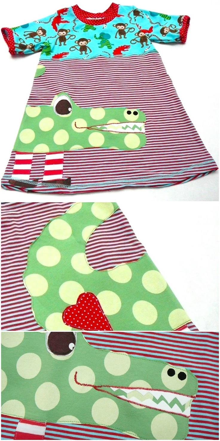 lillesol & pelle Schnittmuster/ pattern: Tunika-Kleid