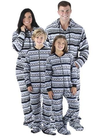 SleepytimePjs family matching penguin fairisle footed pajamas are perfect  for the entire family. Cuddle up and relax with the family all winter long. dce5cae0e