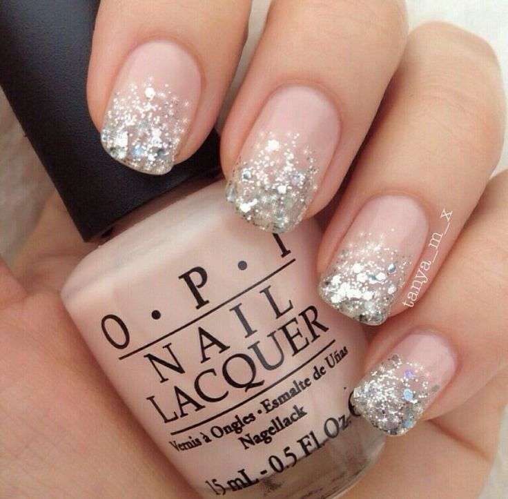 glitter gel nails design - Google Search | Beautiful nails ...
