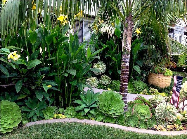 Tropical Garden Landscape Plans