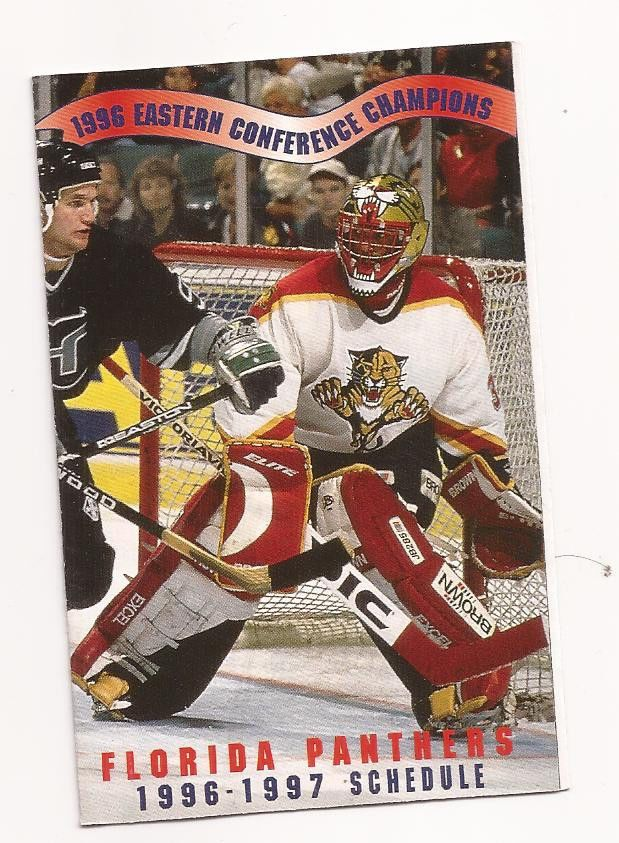 1996-97 Florida Panthers Team Schedule