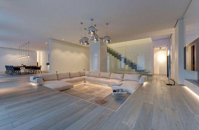 Interior Idea On Twitter In 2021 Sunken Living Room Small Apartment Living Room Living Room Decor Apartment Amazing sunken living room designs