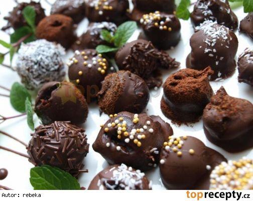 Domácí čokoládové lanýže od evel