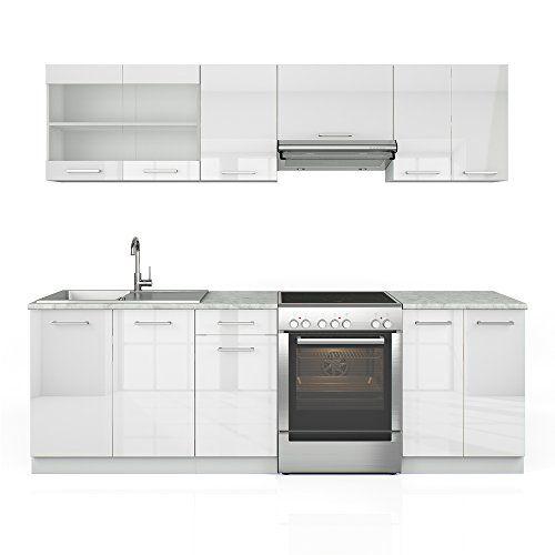 Pinterestu0027teki 25u0027den fazla en iyi U küche weiss hochglanz fikri - küchenschrank hochglanz weiß