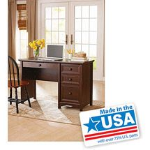 Walmart: Better Homes And Gardens Oakmore Place Computer Desk, Euro Oak
