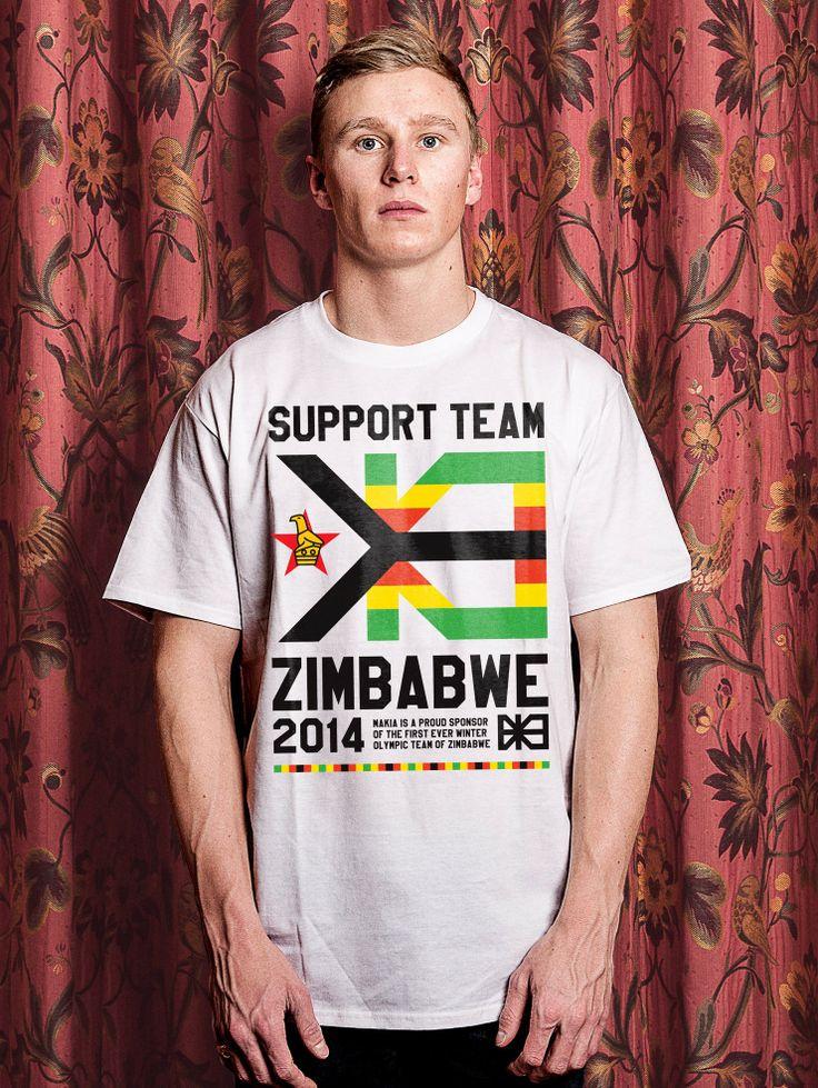 One of the coolest Makia shirts! ZIMBABWE T-SHIRT Go Zimbabwe!