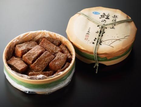 鮭の味噌漬 1,430g(14~16切 タル入) - 塩引き鮭・新巻鮭の取り寄せ|村上 又上