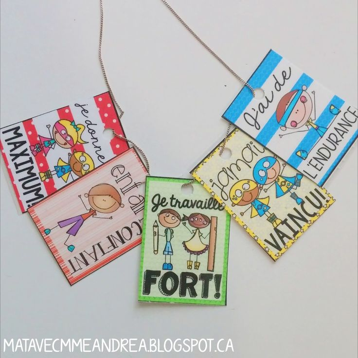 Bonjour!   As you many have noticed, I have recently added French Brag Tags  (billets de fierté) to my TPT store, and have been discussi...