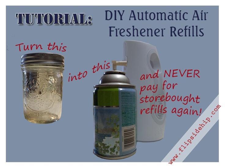 DIY Automatic Air Freshener Refills
