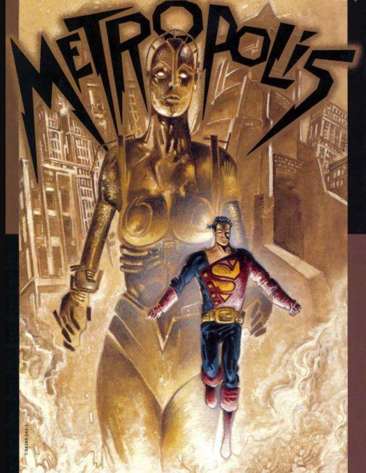¿Conocen el film Metrópolis, realizado en 1926 por el cineasta Fritz Lang? Al parecer los creadores de Superman eligieron el nombre de Metrópolis para la ciudad de nuestro super-héroe como homenaje a la película de ciencia ficción de Lang. ¡Qué interesante!  #SuperHero #Batman #SuperHeroes #Marvel
