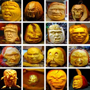 Best Mind Blowing Pumpkin Carving Images On Pinterest - Mind blowing pumpkin carvings by ray villafane 2