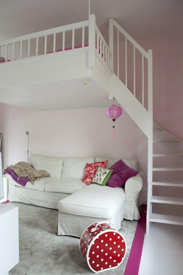 10 besten Hochbett Bilder auf Pinterest Dachgeschosse, Mezzanin - hochbett fur schlafzimmer kinderzimmer