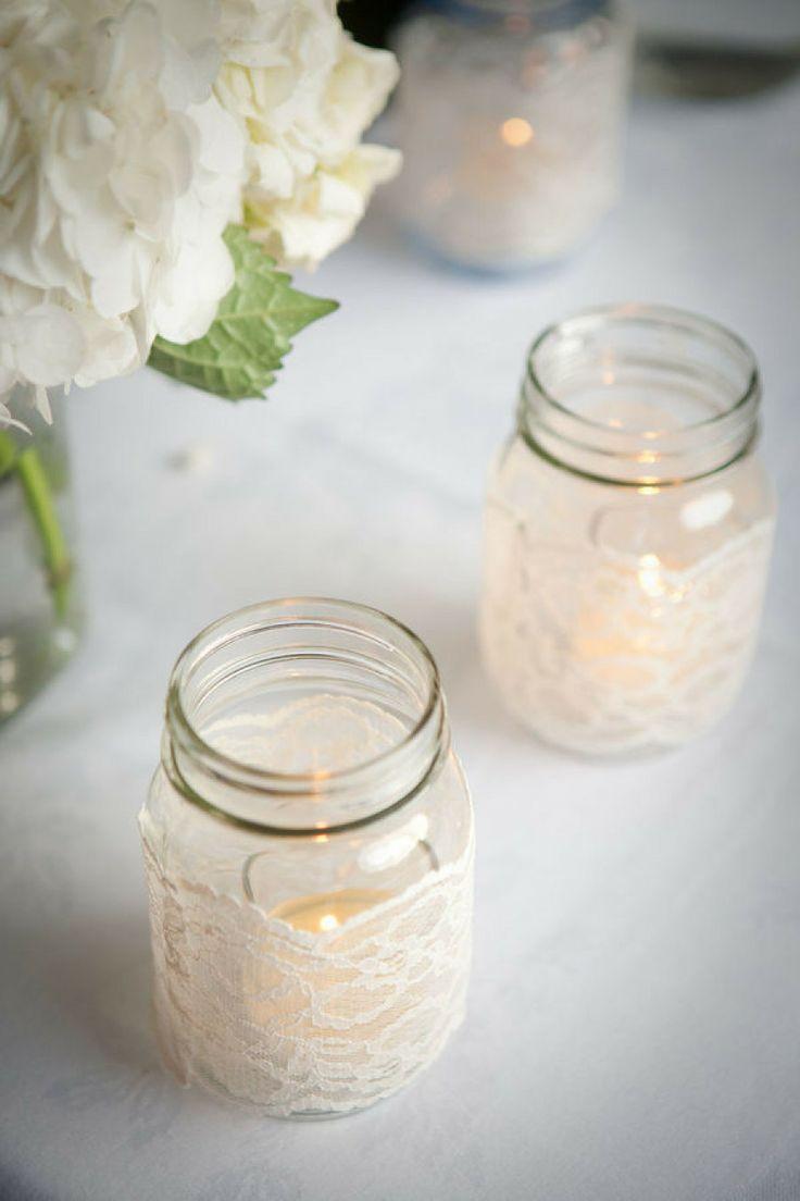 Mason jar crafts wedding - 113 Best Images About Mason Jar Centerpiece On Pinterest Wedding Birthdays And Mason Jar Weddings