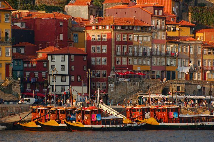 https://flic.kr/p/3UryuV | Ribeira do Porto ao fim da tarde | Porto / Oporto - Historical Center UNESCO World Heritage Site Portugal