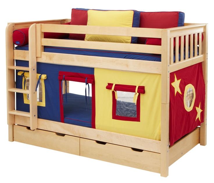33 Best Bunk Bed Images On Pinterest Child Room For