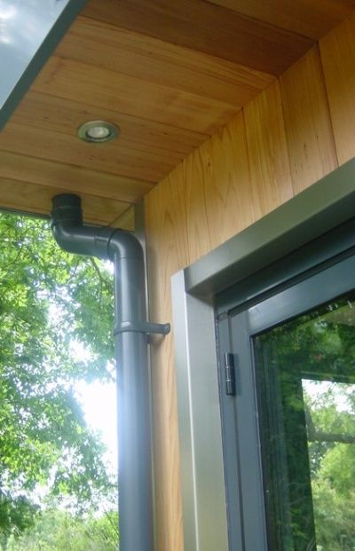 rear extension overhanging roof - Google Search