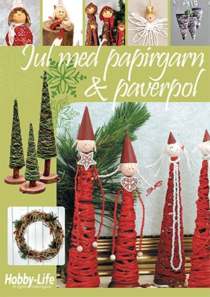 Gratis Tema Magasiner Christmas with paperyarn and paverpol