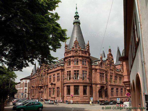 Heidelberg University Library, Heidelberg, Baden-Württemberg, Germany