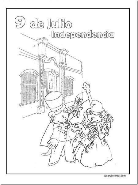 Pin de Correspondencia Argentinit@s en Para Colorear - 9 de Julio ...