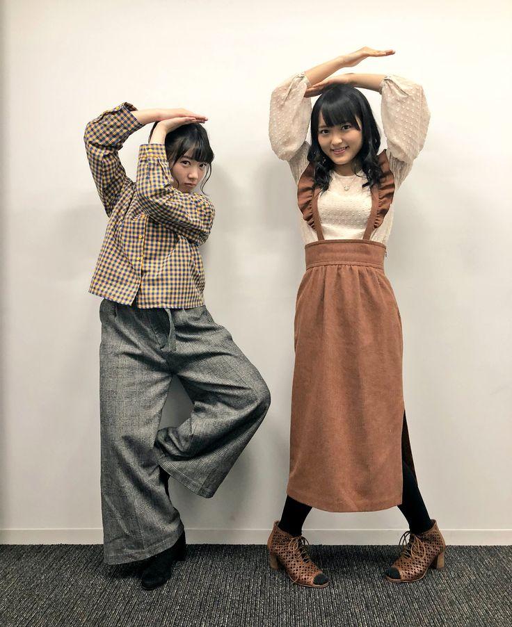 Riko Yamagishi (Tsubaki Factory) & Minami Nomura (Kobushi Factory)