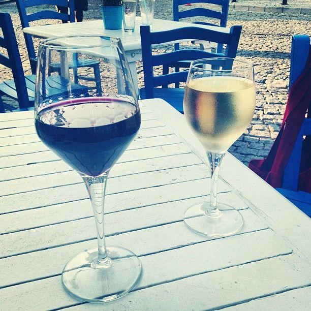 island life... (Polente Cafe, Bozcaada)