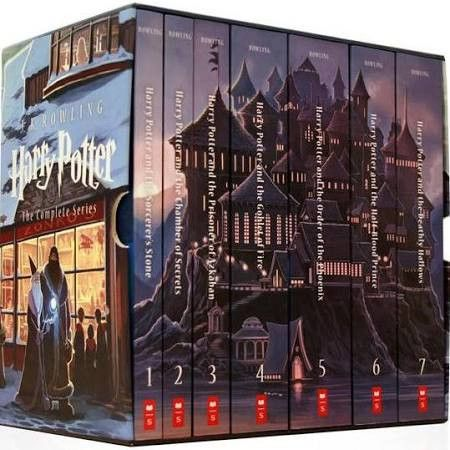 MUST HAVE THESE!!!  Officially Licensed Harry Potter Paperback Box Set, Books 1-7 [Book]