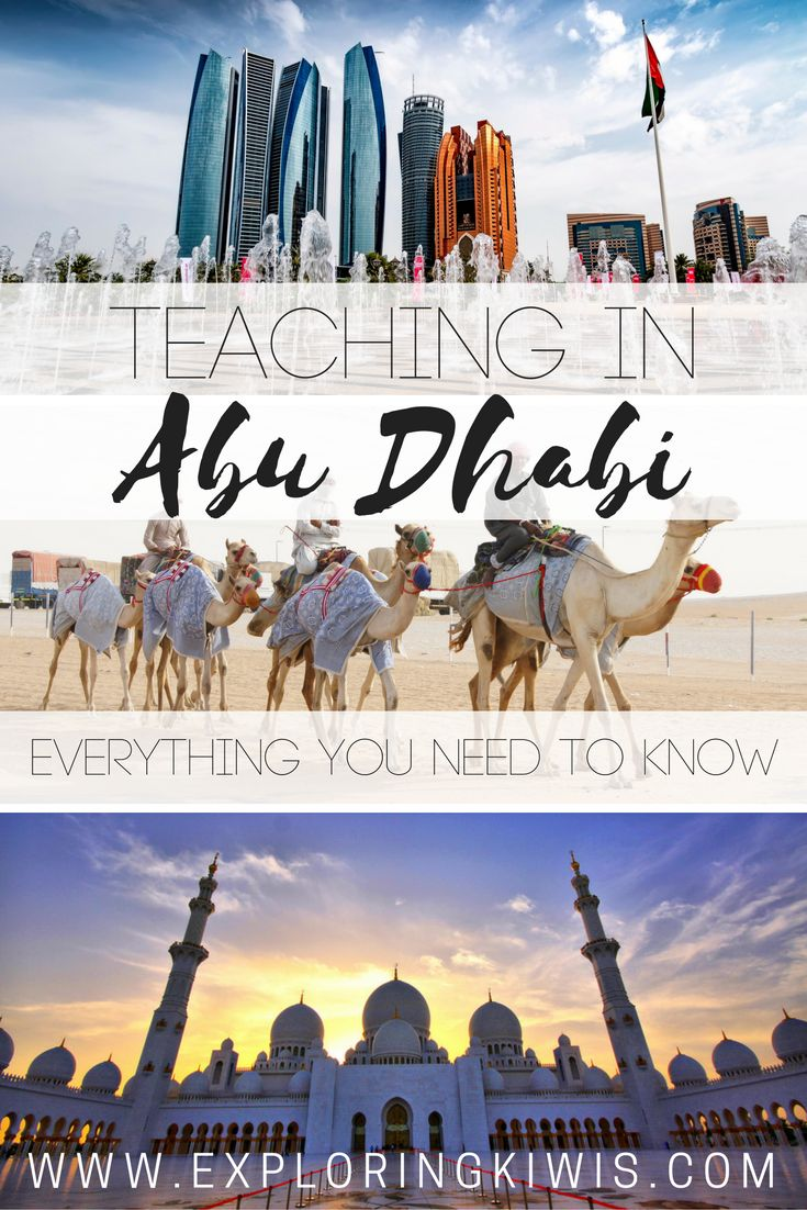 Experience teaching Abu Dhabi UAE