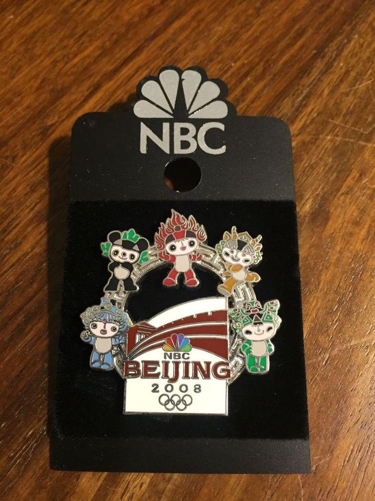 2008 Beijing Olympic NBC mascot FuWa pin  | eBay