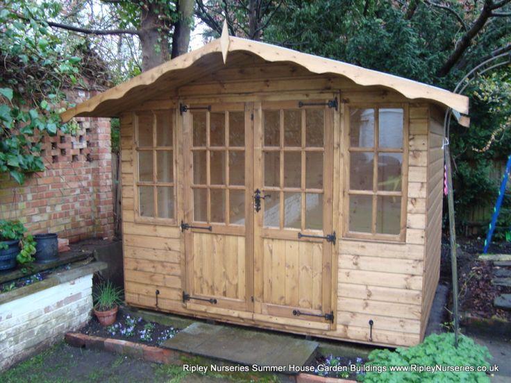 hampton summerhouse 9x6 shiplap cladding - Garden Sheds 9x6