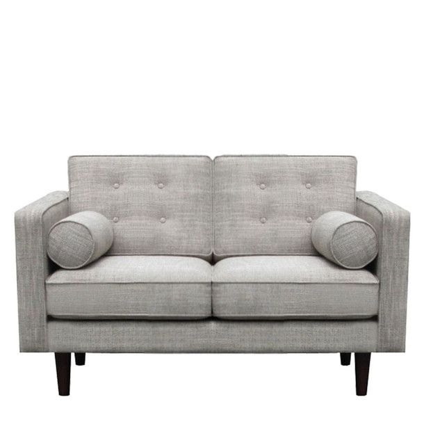 Two Seater Sofa Grey//
