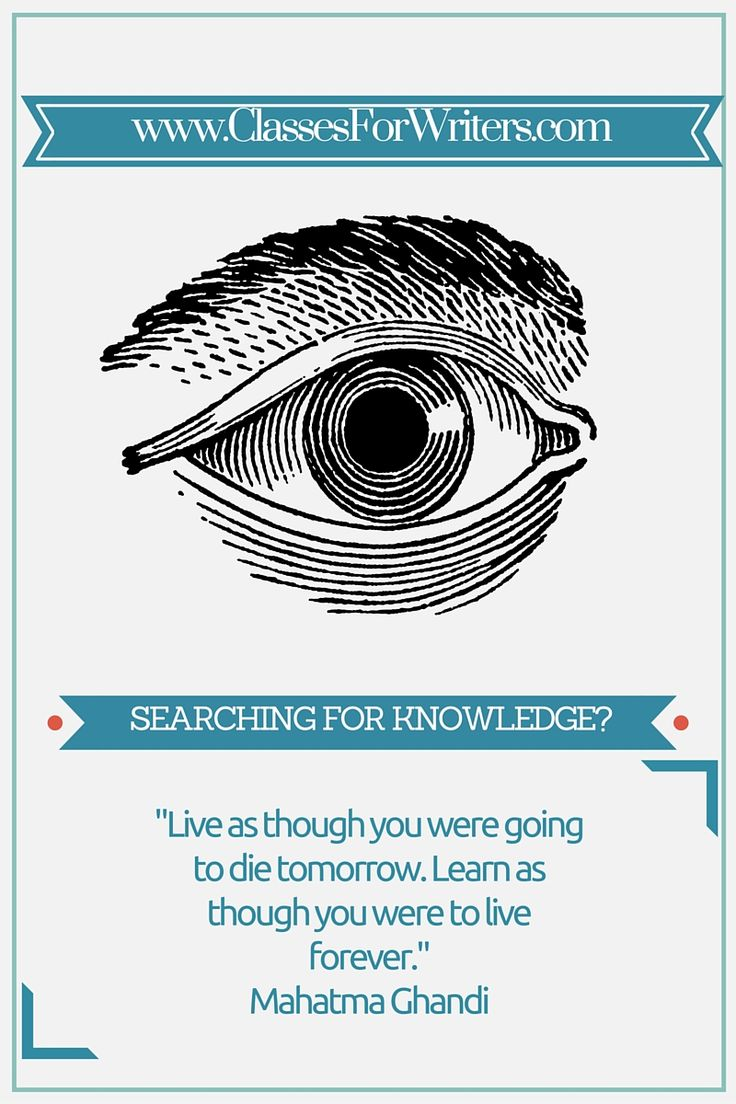 Mahatma Ghandi quote about learning.