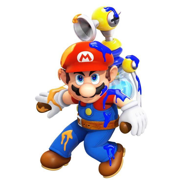 F.L.U.D.D Mario (Super Mario Sunshine)
