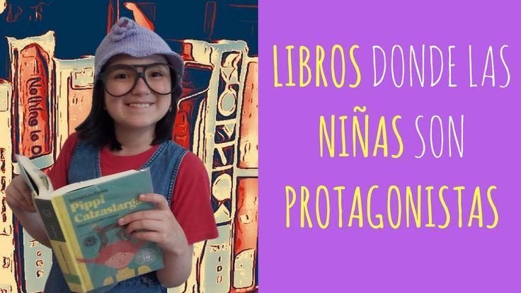 Libros donde la Niñas son Protagonistas