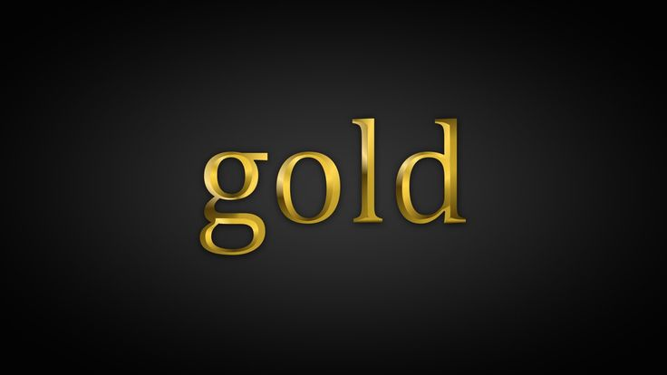 How to Create Realistic Gold Text Effect In Corel Draw : CorelDRAW Text ...