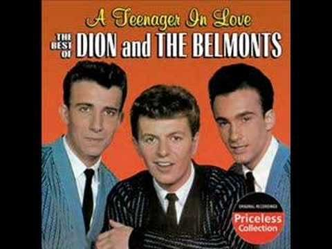 The first hit for Dion & The Belmonts  came spring of 1958 with this song 'I Wonder Why' -- it was the B side to Teen Angel' which also would hit for them. Here's that doo-wop classic