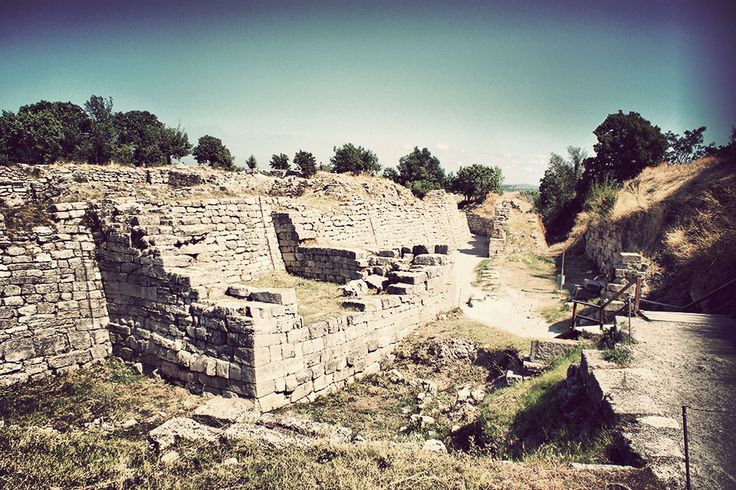 The Ruins of Troy, Canakkale, Turkey