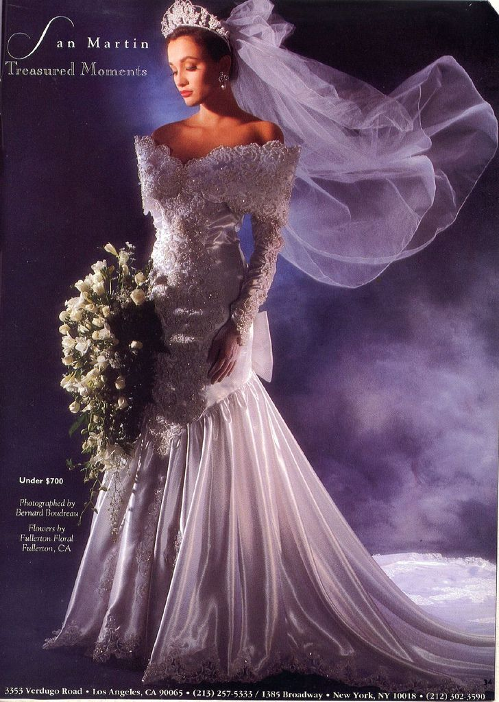 125 best Wedding dresses from the 80s images on Pinterest | Retro ...