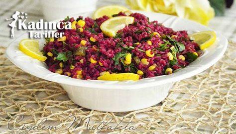 Şalgam Sulu Bulgur Salatası Tarifi nasıl yapılır? Şalgam Sulu Bulgur Salatası Tarifi'nin malzemeleri, resimli anlatımı ve yapılışı için tıklayın. Yazar: Çiğdem Mutfakta