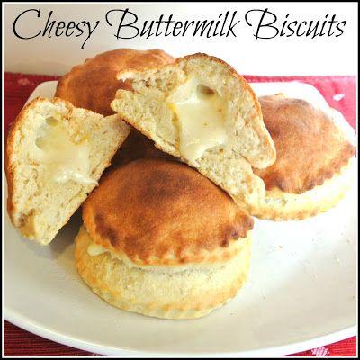 Gluten Free Cheesy Buttermilk Biscuits