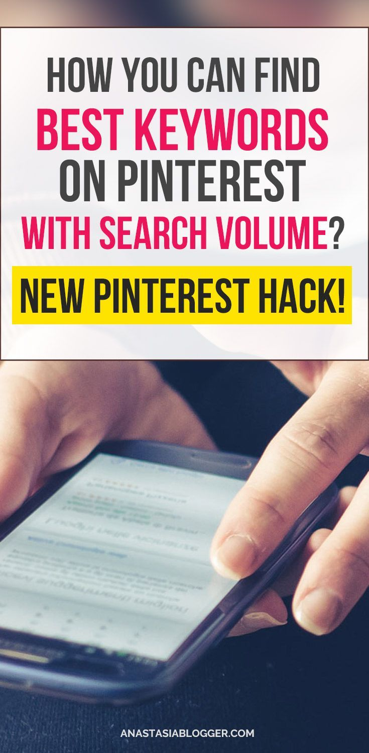 Pinterest Keyword Research is now more accurate - check how you can find the monthly search volumes for keywords on Pinterest using Pinterest's own tools available and free for everyone! Pinterest SEO Tips. Pinterest Marketing #pinterest #blogging #blogger