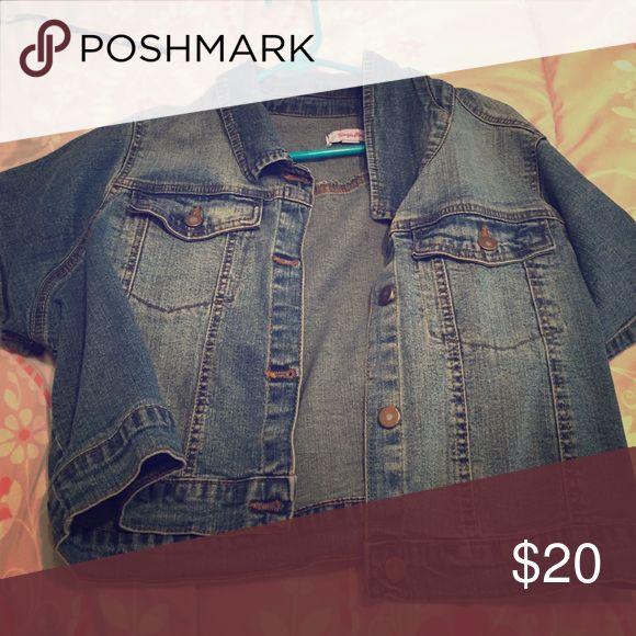 Short sleeve jean jacket Perfect condition Simply Be Jackets & Coats Jean Jackets