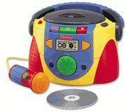 Fisher Price Tuff Stuff Stereo CD Player Fisher-Price http://www.amazon.com/dp/B003UK4WXI/ref=cm_sw_r_pi_dp_9aOKtb0KAERR5MSK